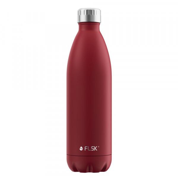 FLSK Vakuum Isolierflasche 1000 ml Bordeaux