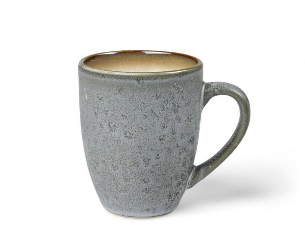 Bitz Henkelbecher grau / creme 300 ml