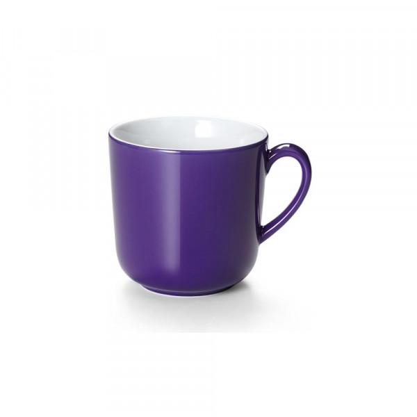 Dibbern Solid Color violett Becher mit Henkel 0,32 l