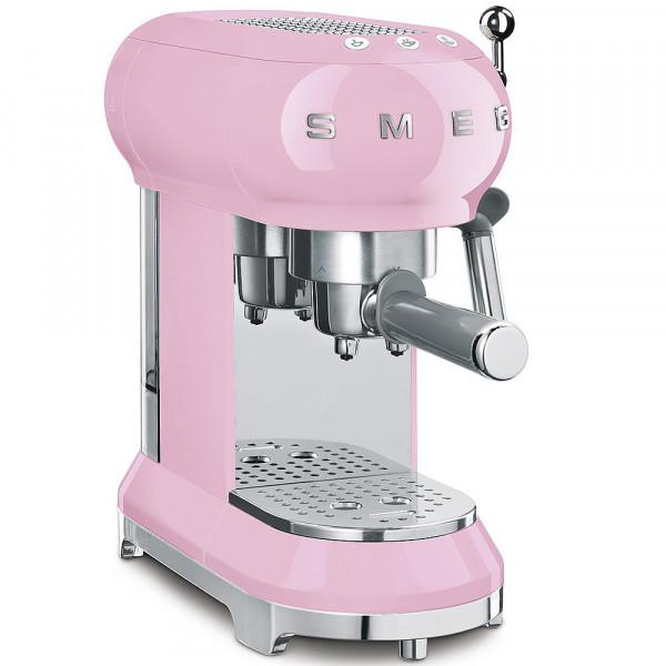 Smeg Retro Espressomaschine pink