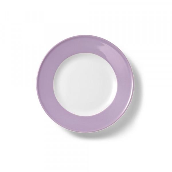 Dibbern Solid Color Flieder Teller flach 21 cm Fahne