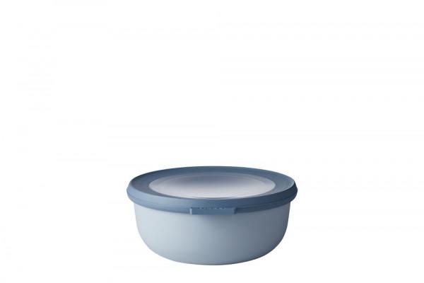 Mepal Cirqula Multi Bowl Vorratsdose mit Deckel 750 ml nordic blue