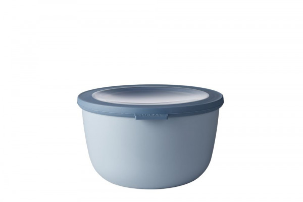Mepal Cirqula Multi Bowl Vorratsdose mit Deckel 2000 ml nordic blue