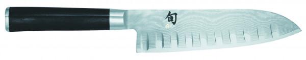Kai Shun Classic Santoku-Messer mit Kullenschliff 18 cm