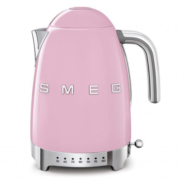 Smeg Retro Wasserkocher mit Temperatursteuerung cadillac pink