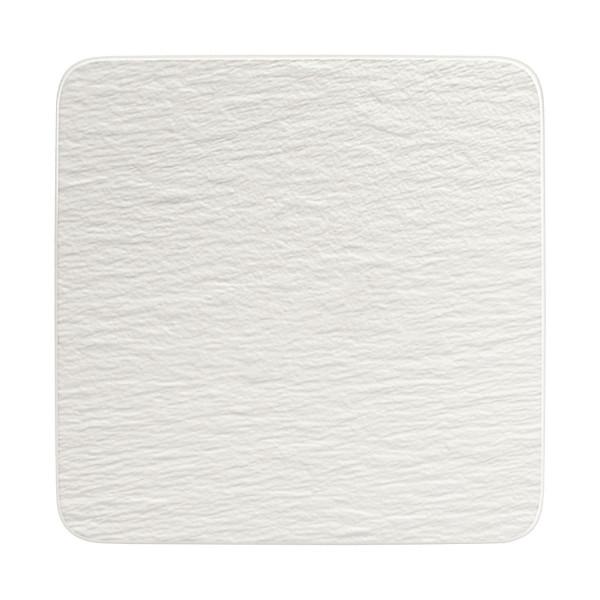 Villeroy & Boch Manufacture Rock Blanc Servierplatte quadratisch 32 x 32 cm