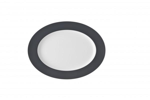 Thomas Sunny Day Grey Platte 33 cm