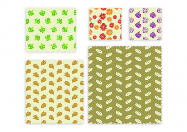 Nuts Innovations Bienenwachs Wrap Universal 5er-Set