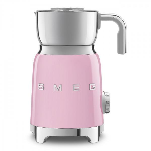 Smeg Retro Milk & More Milchaufschäumer pink