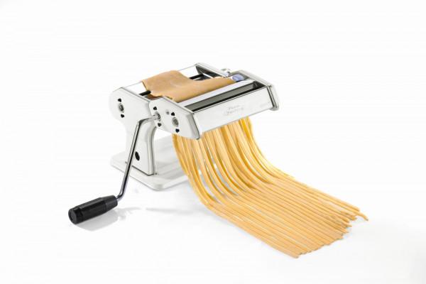 Gefu Pasta Perfetta Weiß Pasta-Maschine für Lasagne, Tagliolini, Tagliatell