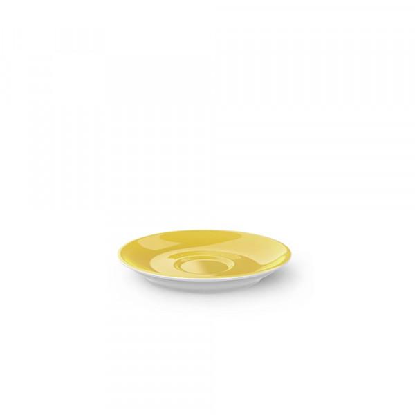 Dibbern Solid Color sonnengelb Espresso Untertasse Classico