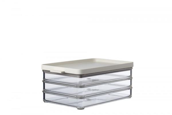 Mepal Omnia Nordic White Kühlschrankdose Aufschnitt