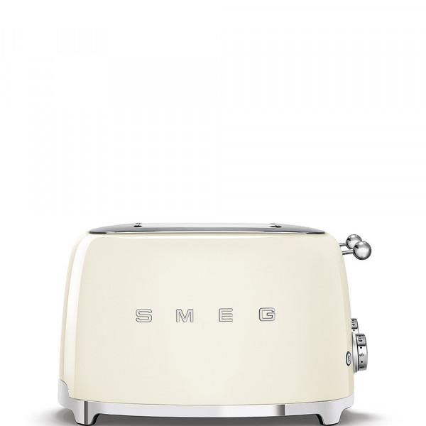 Smeg Retro Toaster 4 Scheiben creme