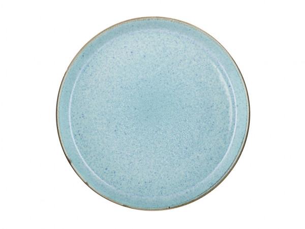 Bitz Speiseteller grau / hellblau 27 cm