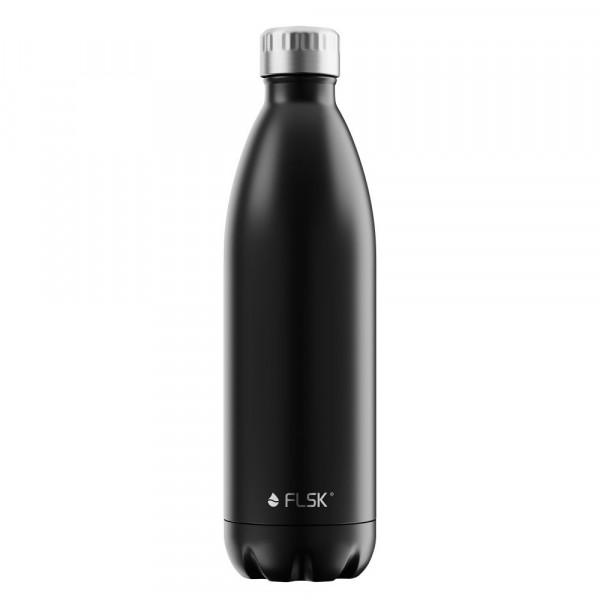 FLSK Vakuum Isolierflasche 1000 ml Black