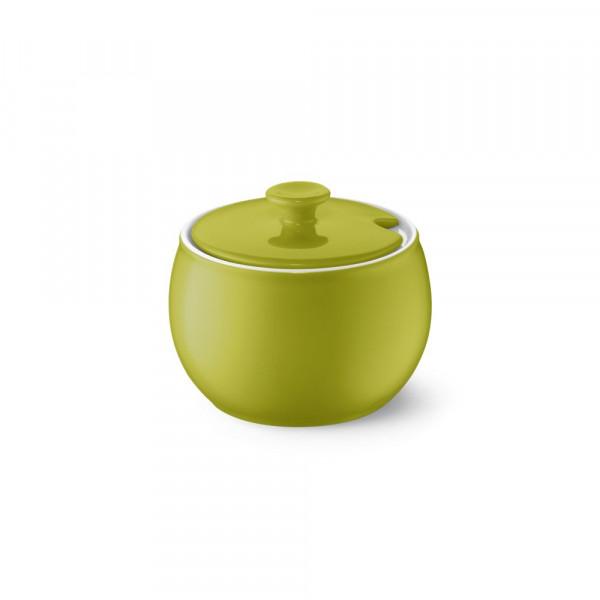 Dibbern Solid Color oliv Zuckerdose 0,30 l