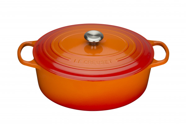 Le Creuset Gusseisen Ofenrot Bräter oval 35 cm