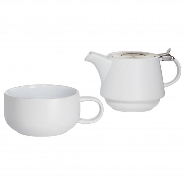 Maxwell & Williams Tint Teeservice für 1 Person Weiß