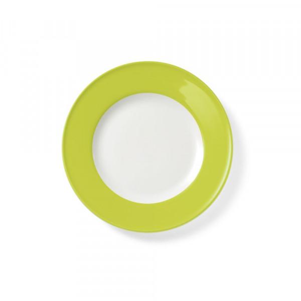 Dibbern Solid Color limone Teller flach 21 cm Fahne
