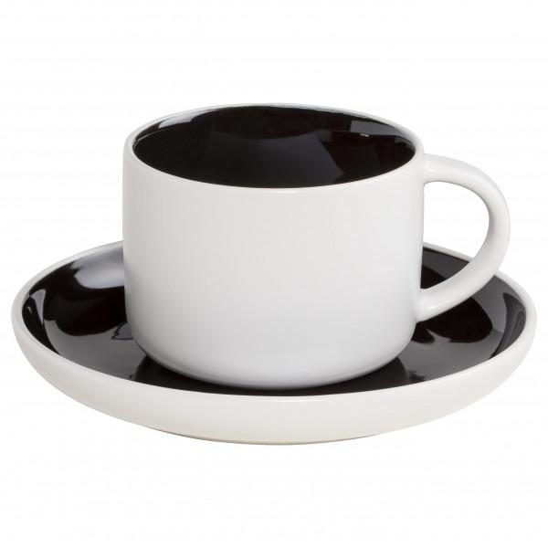 Maxwell & Williams Tint Tasse mit Untere schwarz