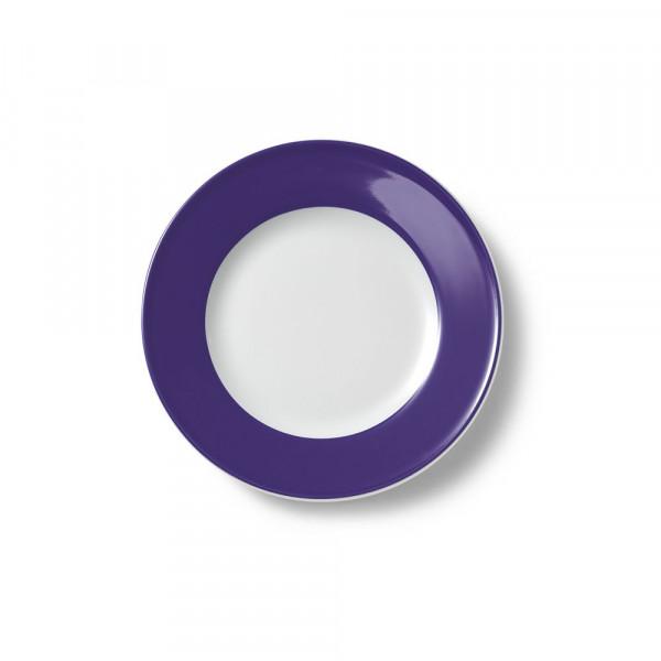 Dibbern Solid Color violett Teller flach 19 cm Fahne