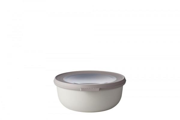 Mepal Cirqula Multi Bowl Vorratsdose mit Deckel 750 ml nordic white