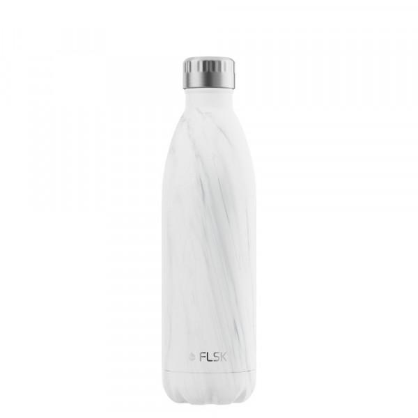 FLSK Vakuum Isolierflasche 750 ml White Marble