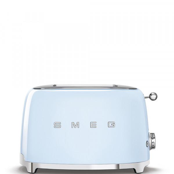 Smeg Retro Toaster 2-Schlitz pastellblau