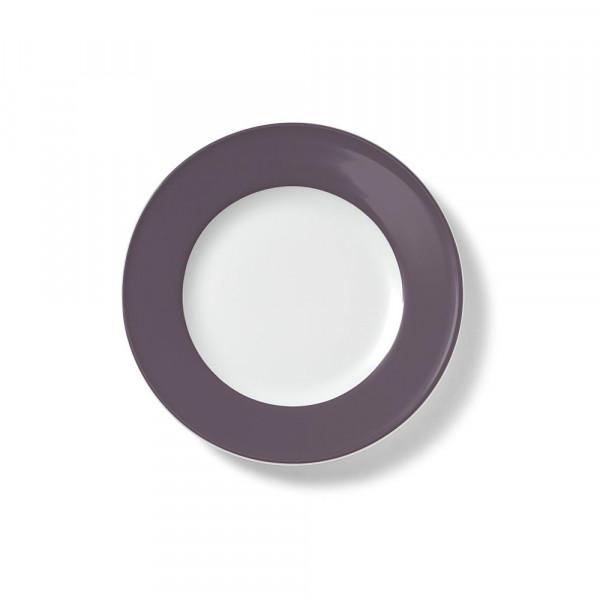 Dibbern Solid Color umbra Teller flach 21 cm Fahne