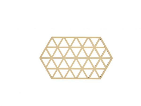 Zone Denmark Topf-Untersetzer Silikon Triangles Warm Sand 24 cm
