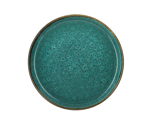 Bitz Servierplatte grün / grün 27 cm