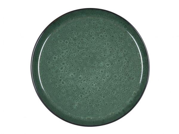 Bitz Speiseteller schwarz / grün 27 cm
