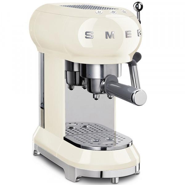 Smeg Retro Espressomaschine creme