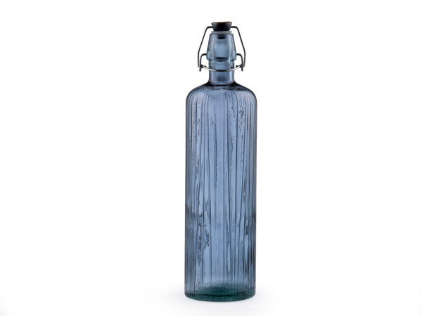 Bitz Kusintha Wasserflasche blau 1,2 l