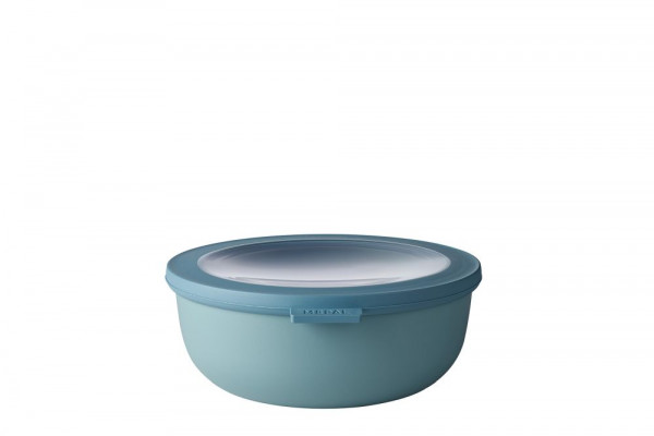 Mepal Cirqula Multi Bowl Vorratsdose mit Deckel 1250 ml nordic green