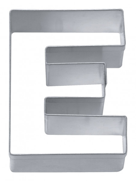 Städter Ausstecher Edelstahl Buchstabe E 6,5 cm