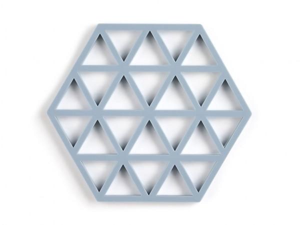 Zone Denmark Topf-Untersetzer Silikon Triangles Hellblau