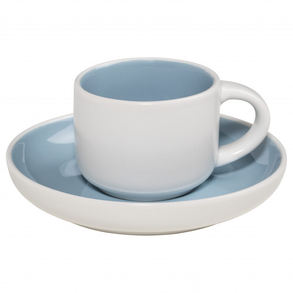 Maxwell & Williams Tint Espressotasse mit Untere Hellblau