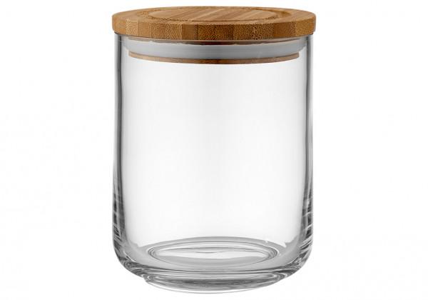 Ladelle Stak Glas Vorratsdose 13 cm durchsichtig