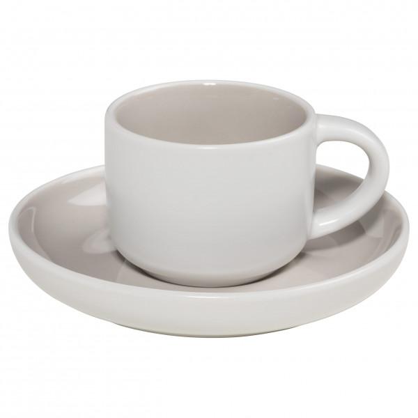 Maxwell & Williams Tint Espressotasse mit Untere Hellgrau