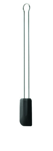Rösle Teigschaber Silikon schwarz 26 cm