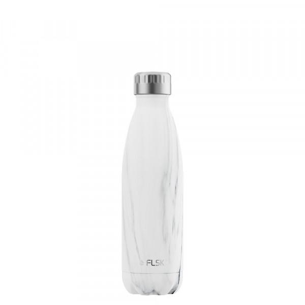 FLSK Vakuum Isolierflasche 500 ml White Marble