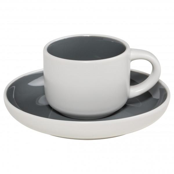 Maxwell & Williams Tint Espressotasse mit Untere Dunkelgrau