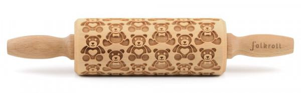 Kostbar Teigrolle Teddybären klein