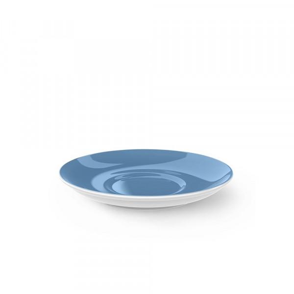 Dibbern Solid Color vintage blue Kaffee Untertasse