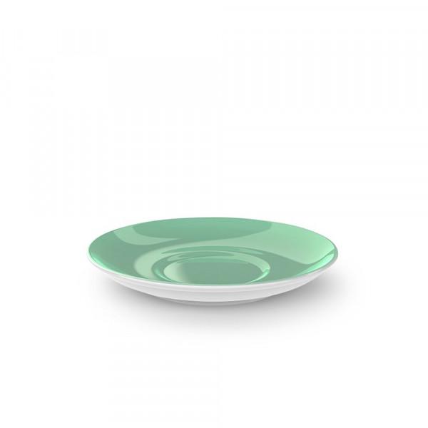 Dibbern Solid Color smaragd Kaffee Untertasse