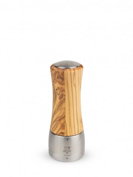 Peugeot Daman Madras Olive U-Select Pfeffermühle 16 cm Olivenholz