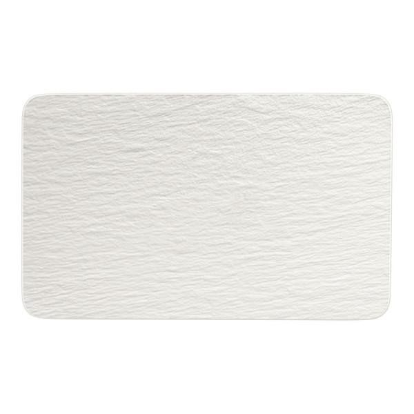 Villeroy & Boch Manufacture Rock Blanc Multifunktions-Teller rechteckig 28 x 17 cm