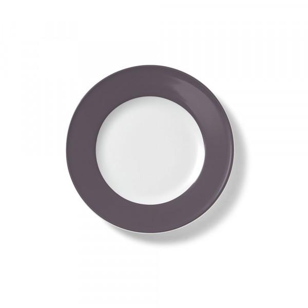 Dibbern Solid Color umbra Teller flach 19 cm Fahne