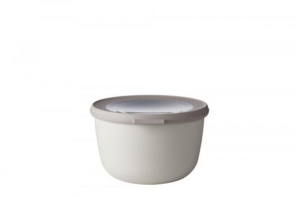 Mepal Cirqula Multi Bowl Vorratsdose mit Deckel 1000 ml nordic white